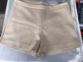 High waist short beige