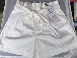 High waist short weiß