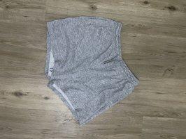 High waist shorts jogging grau