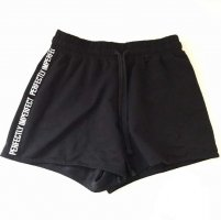 High waist Shorts mit Aufschrift NEU, Größe XS