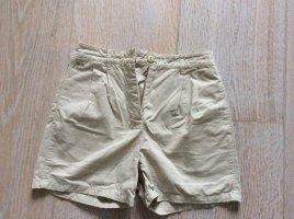 High Waist Shorts von Lacoste in Sand