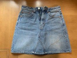 High Waist Weekday Minirock Jeans