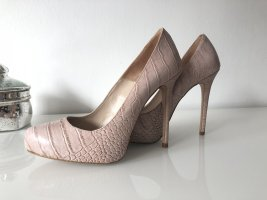 Higheels in Reptil Optik nude Pumps stiletto
