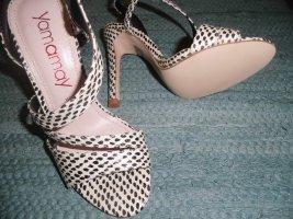 Yamamay High Heel Sandal black leather
