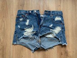 Highwaist Jeansshort von PULL&BEAR
