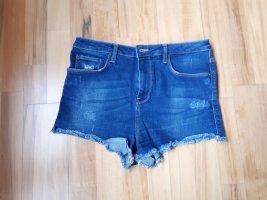 Highwaist Jeansshorts von Zara