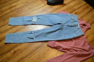 Nakd Jeans skinny blu pallido