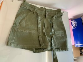 Highwaist Shorts Neu Khaki