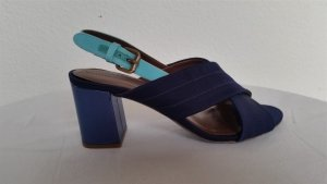 Hilfiger Collection, Pumps, blau, Leder/Baumwolle, EU 39, neu