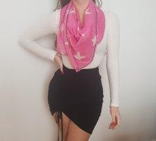 Hilfiger Denim Schal Rosa Pink mit Sternen