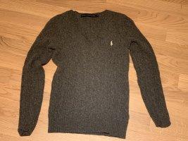 Polo Ralph Lauren Jersey de lana gris antracita