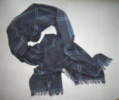 Tommy Hilfiger Summer Scarf dark blue cotton