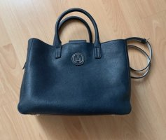 Tommy Hilfiger Tote dark blue leather