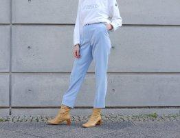 Kirsten Pantalon taille haute bleu azur