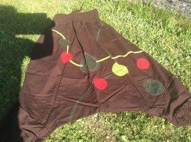 Haremki ciemnobrązowy-jasnoczerwony