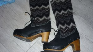 Jeffrey Campbell Heel Boots multicolored wood