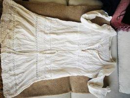 Sukienka boho biały Bawełna