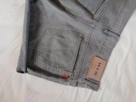 Vintage Pantalón corto de tela vaquera gris