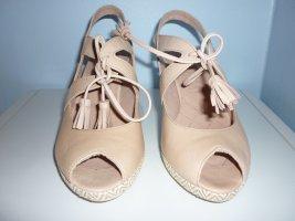 Hispanitas Pumps Gr. 39 rosa nude Quaste Sandalette