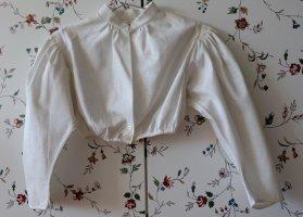 gössl Blouse bavaroise blanc cassé coton