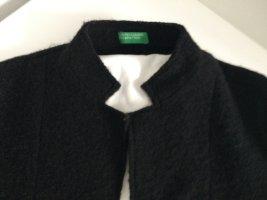 Benetton Wollen blazer zwart