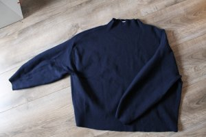 HM Oversized Sweater dark blue