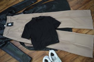Nakd Cropped Shirt black