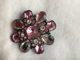 Broche rose clair-or rose