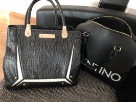 Hochwertige Handtasche in blau