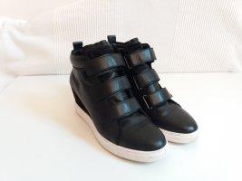 Hochwertige Keilsneaker mit angesagten Klettverschlüssen - eher Gr. 39