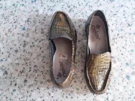 Hochwertige Leder Schuhe von rieker gr 6 1/2