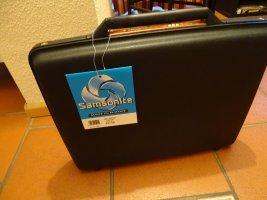 Samsonite Porte-documents noir-cognac