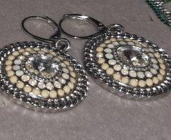 Pippa & Jean Pendientes colgante color plata