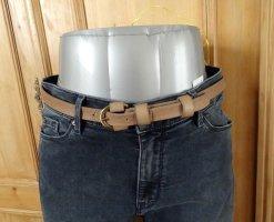 More & More Cinturón de cuero beige Cuero