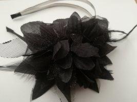 Hochzeit Brautjungfer Fascinater Haarreifen Blume Federn Goth Haarschmuck