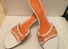 Comfort Sandals white-orange