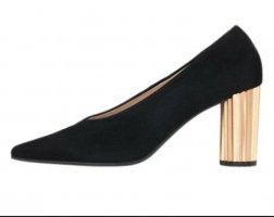 Högl shoes Högl 6-10 7512 Dory High Heel Black Suede Court Shoes