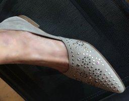 Högl Slipper 40 mit Swarovski Steinen 2 mal getragen
