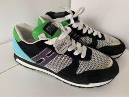 HOGAN Rebel Sneaker Gr. 38 38,5 schwarz Türkis grün NEU!