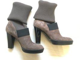 HOGAN Stiefel mit Strickschaft NEU