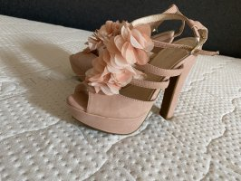 Hohe Schuhe Rosa, Größe 37