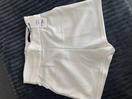 MOODY'S Pantalón corto de talle alto blanco