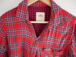 Hollister Camisa de manga larga rojo
