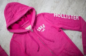 HOLLISTER by Abercrombie & Fitch  ~ KAPUZENPULLOVER HOODIE ~ SIZE S
