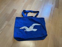 Hollister Handbag blue