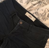 Hollister Pantalone a vita bassa blu scuro