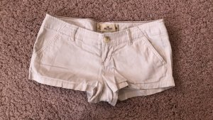 Hollister Hot pants cremefarben Größe 26
