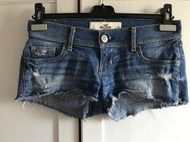 Hollister Jeans Shorts Hot Pants blau