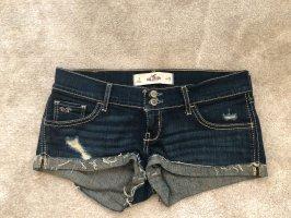 Hollister Shorts blu scuro