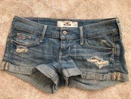 Hollister Jeansowe szorty niebieski